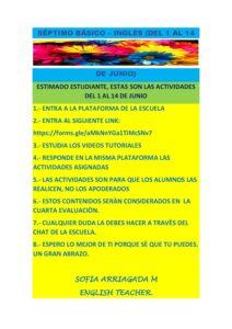 ACTIVIDADES SÈPTIMO BÀSICO INGLES DEL 1 AL 14 DE JUNIO (1)