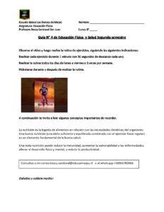 8º A EDUCACIÓN FÍSICA GUÍA 4 SEGUNDO SEMESTRE 9 AL 20 NOVIEMBRE
