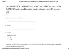 PRUEBA Nº 2 INGLÈS 7A-B – SEGUNDO SEMESTRE 2020 (1)